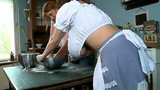 Milena in Kitchen