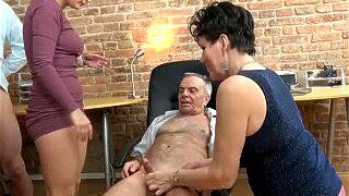 Bizzare Interview with Perv Old Couple