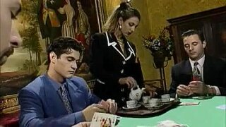 Poker Game Gets Interesting With The Maid