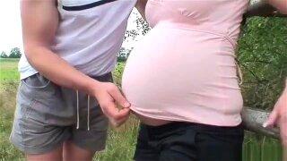 Swiss Pregnant Fucked