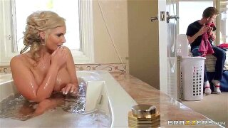 When Danny D moved to the states to live with his parent in California, it was on the condition that he spend some time with his stepmother, buxom platinum-blonde bombshell Phoenix Marie. He had been putting off dangling out with her for as long as he cold, but his daddy eventually gave him no choice in the matter, telling him to spend the day with Phoenix or else. Danny found her in the bathtub, and tried to give her some privacy, but she was more interested in doing a tiny bonding! highly first, Danny slurps her pretty tiny coochie until it's cascading raw, and then ravages her rigid until she's prepared to jizz all over his man-meat. Then, he takes it up a notch by going ball sack deep in her delicious mummy butt for an amazing butt boning session that only ends when Danny blows a giant jizz fountain all over Phoenix's face and big globes!