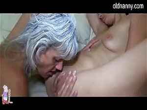 Very Old Granny And Young Girl Porn