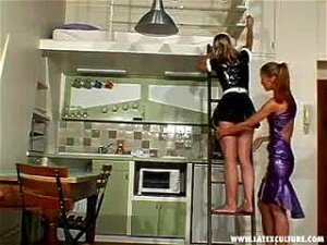 Me In Latex, Maid With Mistress Dana 3 Porn