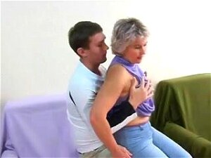 Classy Girl Older Russian Mommy And A Youthful Dude. Porn