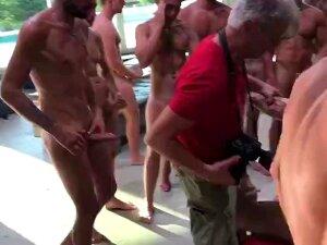 BTS Rocco Siffredi Directing A GANGBANG Porn