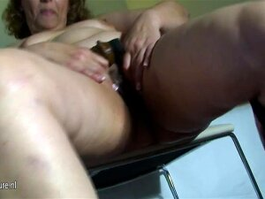 Spanish Old Granny Soaking In Front Of The Camera Porn
