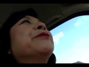 54yr Old Granny Saeko Katano Creamed Outside (Uncensored) Porn