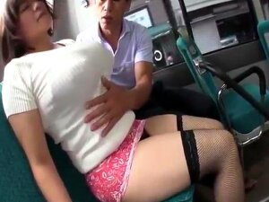 Big Boobs Slut On The Bus Porn