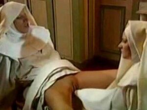Hot Lesbian Nuns Having Great Fisting Action. Porn