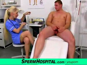 Uniform Mother Maya Is Naughty Doctor Stroking Cocks Porn