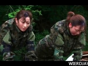 Gorgeous Asian Army Girls Submitted To Sexual Torture In A Military Mission Porn