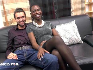 Watch African Chick And French Men On  Now! - French, African, Babe, Creampie, Ebony, Handjob, Interracial, Small Tits, Teen, Threesome, Big Ass Porn  Hot Porn