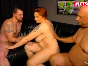LETSDOEIT - Mature German Wife Shared By Husband With A Young Stud Porn