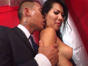Asa Akira & Lana Violet Are Having Foursome With Two Black Dudes Porn