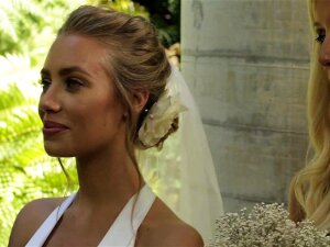 Sexy Blonde Bride Nicole Aniston Fucking Porn