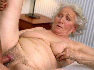 Blonde Granny Gets Nailed By A Well Hung Stud Porn