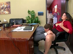 Brazzers - Alison Tyler Has A Little Office Fun Porn