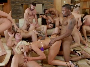 Fantasy Orgy Sex With The Finest Girls In The Industry Porn