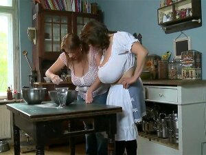 Milena In Kitchen Porn
