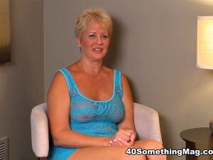 Born In Pennsylvania, Now Living In Tampa, Florida (the Swingers Capital Of North America), 49-year-old Tracy Licks Makes Her Video Debut On 40SomethingMag With An Interview And A Fuck. When The Scene Starts, Tall, Long-legged Tracy Is Sitting In Our Dressing Room Wearing A Sheer, Sexy, Blue, Lace Dress.