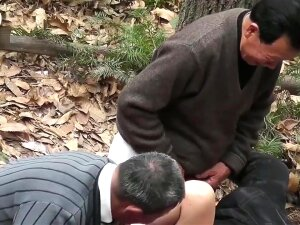 Group Old Grandpa Fuck In Forest Porn