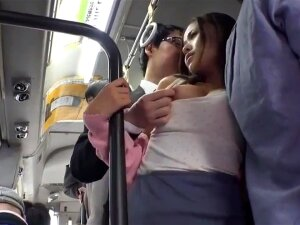 Chinese Honey Gets Drilled On The Bus Porn