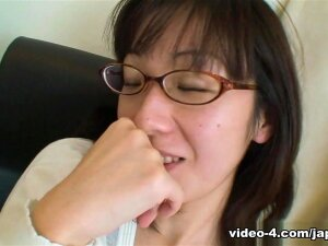 She May Be Old, But Japanese Cougar Nobuko Torii Still Knows How To Look Sexy. With Her Sexy Glasses And Knee High Stockings, She Reveals That There's A Horny Sex Creature Laying Under That Mature, Reserved Exterior Just Waiting To Be Pleasured. Porn