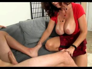 Busty Mature Sucks Young Cock Porn