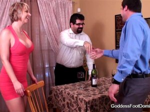 Wife Closes Under Table Business Deal Porn