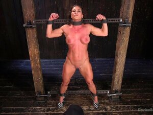 Extreme Torture For Ariel X With Double Penetration From Toys Porn