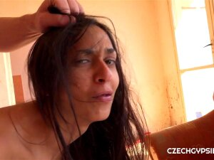 Ashely Ocean Is Real Czech Gypsy Girl. Ourgypsy Hunter Hunted Herwhile Waiting For Her Boyfriend. She Is Really Very Cheap Bitch Porn