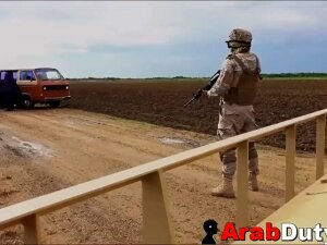 Big Tits Arab Pimped To White Soldiers By Goat Herder Porn