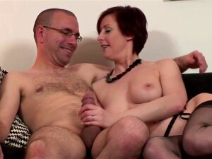 Aged Nylons Fucking And Engulfing For Favourable Man Porn