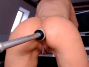 Extreme Horny Milf Pussy Is Getting Fucked By The Fuck Machine Til She Squirts. Porn
