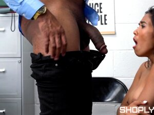 Wild Fucking Between A Dirty Guy And Asian Shoplifter Jada Kai Porn