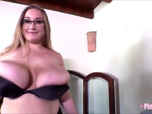 Cherry Blossom Is Back To Tease You With Her Giant Boobs! Porn