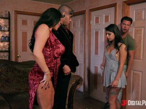 Crazy Foursome Leads These Wives To Swap Partners Porn