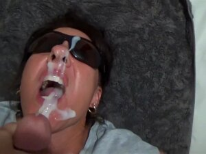 Oral Pleasure Internal Cumshot Compilation. Yam-Sized Homemade Fountains For The Goddess Of Spunk Porn