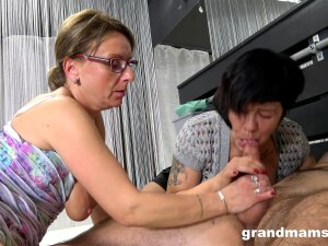 Excellent View Of The Two Matures Sharing Dick Like Sluts Porn