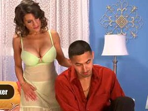 Horny Housewife Climbs On Cock For Anal Insertion Porn