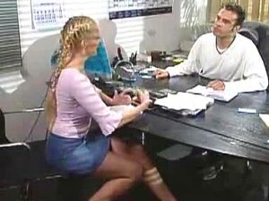 Irish Girl Showing Her Intention Clear To Her Boss Porn