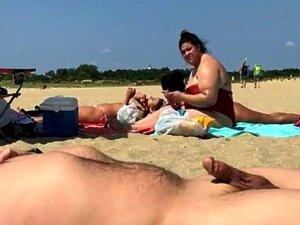 Beach Flasher Enjoys His Summer Day Porn
