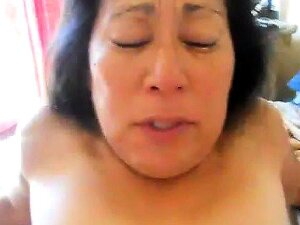 Asian Mature Gets Her Squirting Pussy Fisted Porn