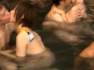 Many Japanese Chicks Suck Dicks And Get Fucked In A Pool Porn