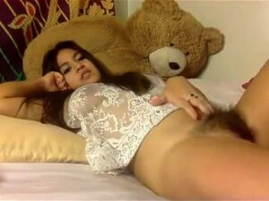 Local Hawaii Girl Plays With Nice Hairy Pussy Porn
