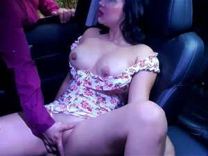 Stranger Finds Me Touching Me Horny Pussy In My Car And I Let Him Help Me Squirt Porn