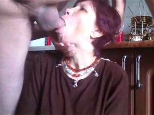 Russian Granny Rough Throat Fucking Porn
