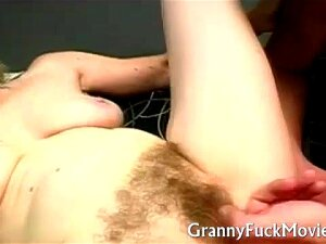Dirty Hairy Granny Whore Carla Fucking A Young Guy With A Fetish For Old Hairy Granny Pussy Porn