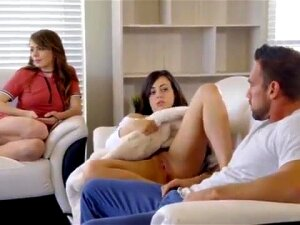 Teen Babe Surprises Her Man By Bringing Her Girlfiend For A Threesome Porn