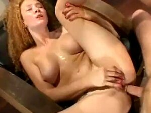Nasty Red Head, Talks Dirty, Takes It In The Ass And Loves Porn
